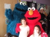 Me, Max, Cookie Monster and Elmo